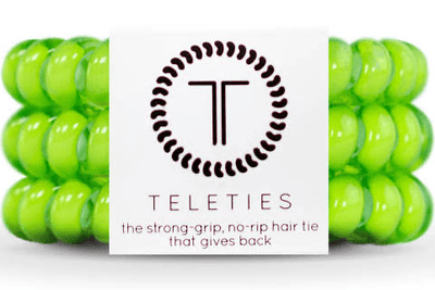 Lime Green Large Teleties - Finley's Boutique
