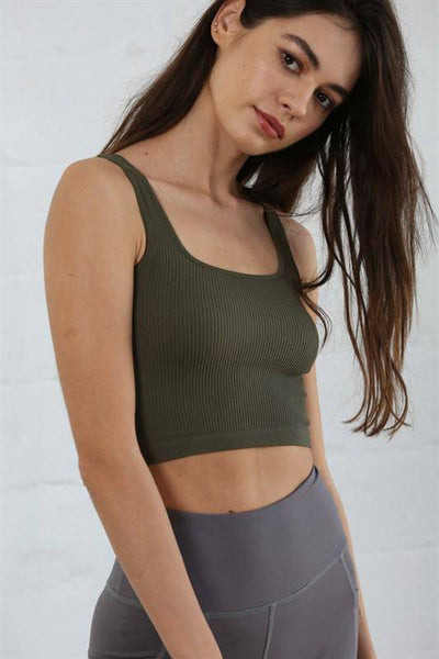 Seamless Square Neck Brami - Finley's Boutique