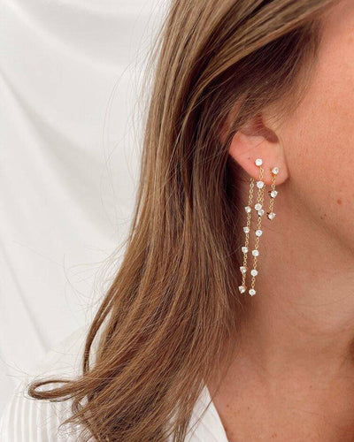 Sparkle Drop Earrings - Finley's Boutique