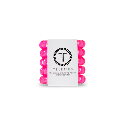 Pink Tiny Teleties - Finley's Boutique