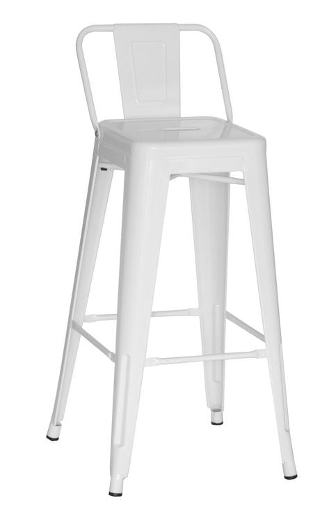 White Square Back 29 Bar Stool 2430704 Ace Casual Furniture