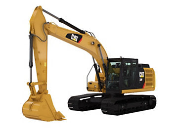 Excavator (40000-44000 lb) Construction Equipment Rental Project