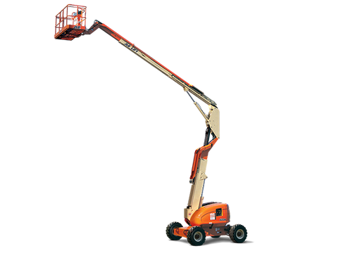 Articulating Boom Lift - 85 Ft. Construction Equipment Rental Project