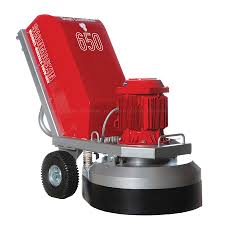 Concrete Grinder - 650 Lbs. Electric (220V) Construction Equipment Rental Project