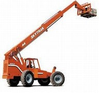 Reach Forklift - 8000 Lb - 42 Ft Reach Construction Equipment Rental Project
