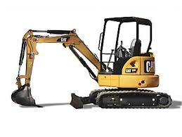 Mini Excavator (8000 Lbs.) Construction Equipment Rental Project