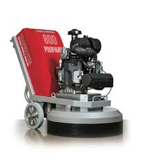 Concrete Grinder - 800 Lbs. Propane (Indoor / Outdoor) Construction Equipment Rental Project