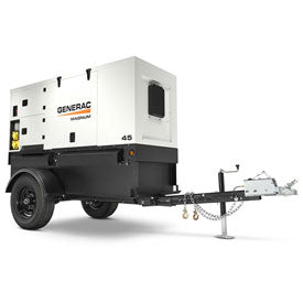 Diesel Generator, 26 kW - 50 kW Construction Equipment Rental Project