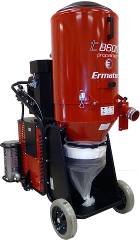 HEPA Dust Extractor (Propane) Construction Equipment Rental Project