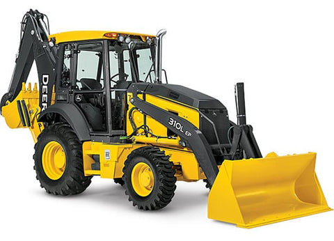Large Backhoe (86-95 hp) Construction Equipment Rental Project