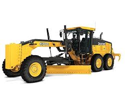 Motor Grader - 14' Blade Construction Equipment Rental Project
