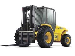Rough Terrain Forklift - 6000 Lb Construction Equipment Rental Project