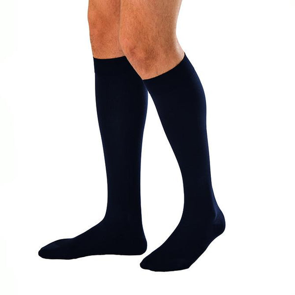 Jobst For Men Compression Knee Highs Black 30-40 mmHg