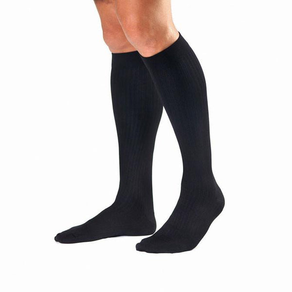 Jobst Men's Knee High Dress Socks - 8-15 mmHg