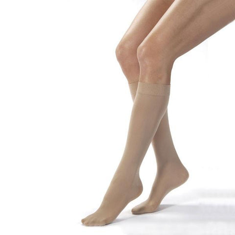 Jobst Opaque Closed Toe Knee Highs - 15-20 mmHg