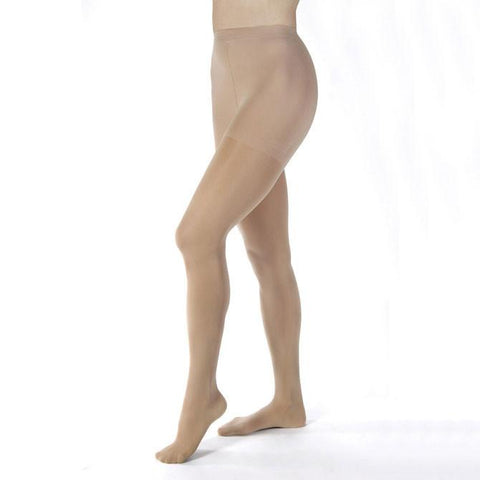 Jobst Compression Stocking Opaque Closed Toe Pantyhose Nude - 30-40 mmHg