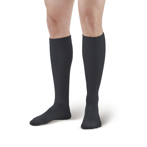 AW Style 632 Diabetic Knee High Socks - 8-15 mmHg