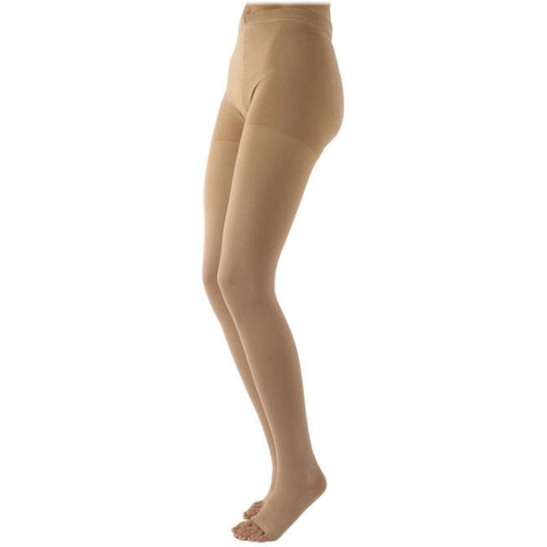 Sigvaris Specialty 503 Natural Rubber Open Toe Pantyhose - 30-40 mmHg