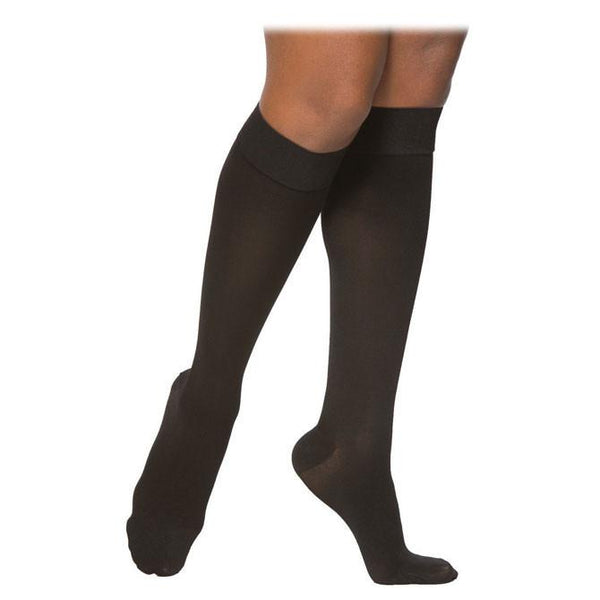 Sigvaris Essential 863 Opaque Women's Closed Toe Knee Highs - 30-40 mmHg