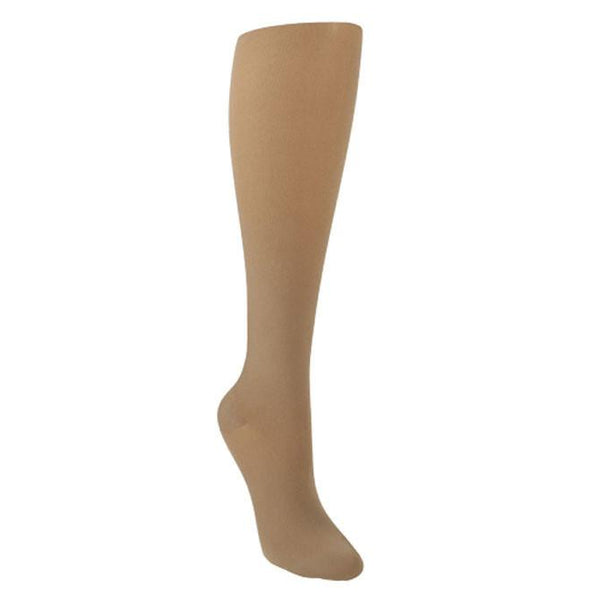 Sigvaris Style 843 Soft Opaque Open Toe Knee Highs - 30-40 mmHg
