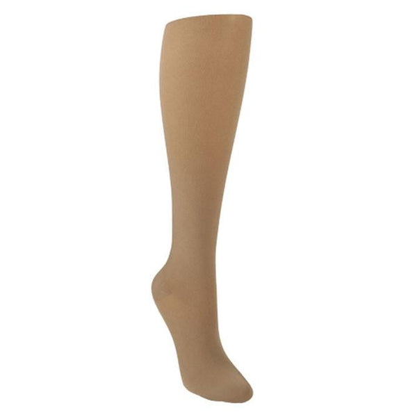 Sigvaris 843 Soft Opaque Closed Toe Knee Highs - 30-40 mmHg