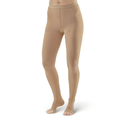 AW Style 293 Medical Support Open Toe Pantyhose - 20-30 mmHg
