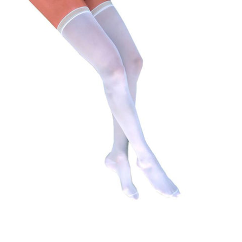 Jobst Compression Stockings Anti-Embolism Closed Toe Thigh Highs w/Silicone Band