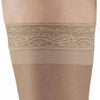 AW Style 45 Sheer Support Open Toe Thigh Highs w/Lace Band - 15-20 mmHg