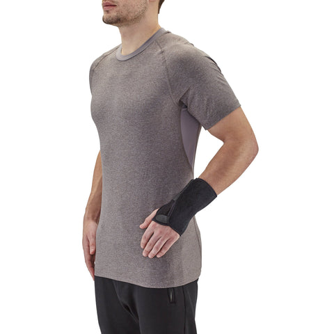 AW Style C51 Neoprene-Universal Wrist Splint for Right or Left Hand Black Universal/One Size Fits All