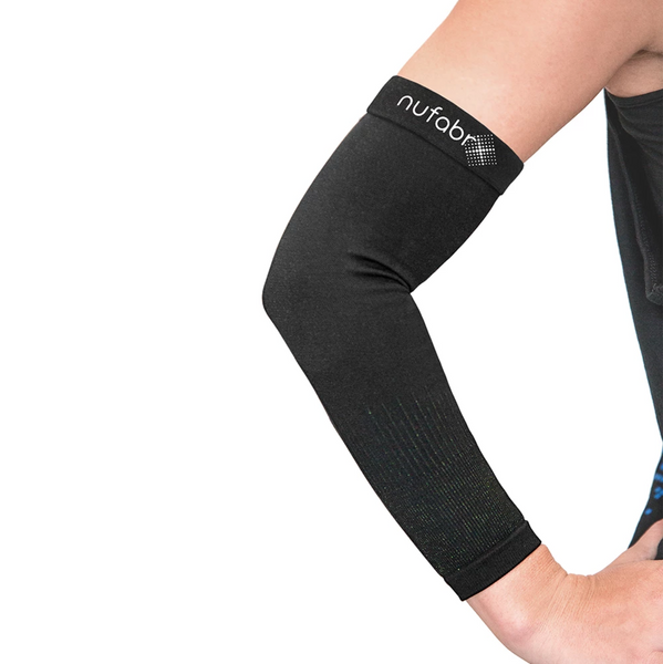 Nufabrx Medicated Arm Sleeve Circular Knit w/Capsaicin (Single Sleeve)
