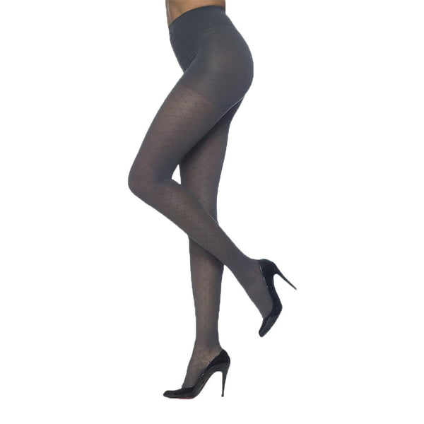 Sigvaris 712 Allure Closed Toe Pantyhose - 20-30 mmHg - Black