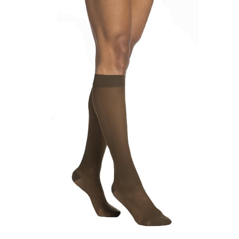 Sigvaris 783 EverSheer Open Toe Knee Highs - 30-40 mmHg