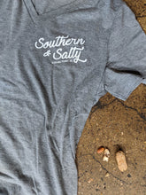 Load image into Gallery viewer, Southern & Salty V-Neck Tee