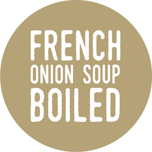 French Onion Soup Boiled