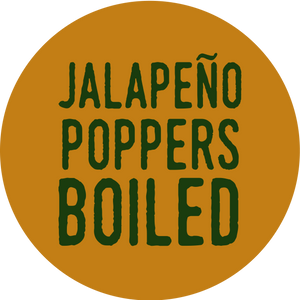 Jalapeño Poppers Boiled
