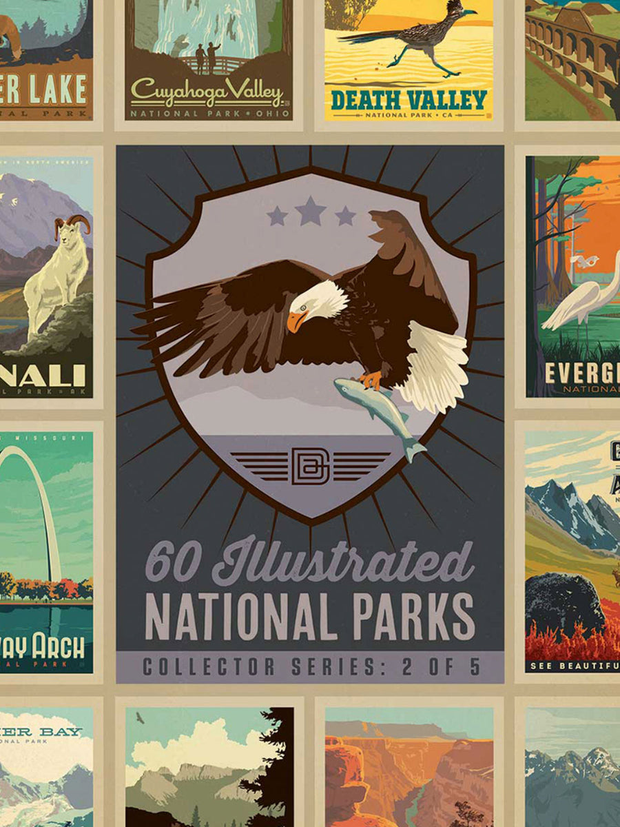 National Parks Eagle Puzzle