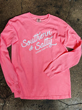 Load image into Gallery viewer, Southern & Salty Long Sleeve Tee