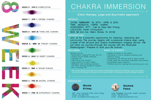 CHAKRA IMMERSION: 8 WEEK EXPERIENCE