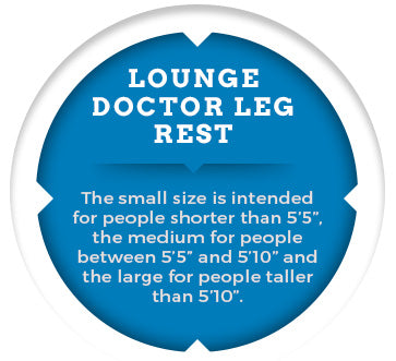 lounge doctor leg rest graphic