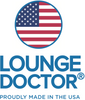 Lounge Doctor Leg Rest With Cooling Gel Memory Foam