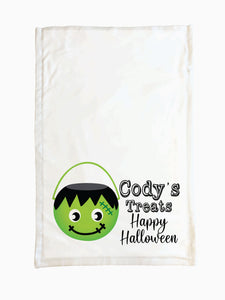 Frankenstein Bucket - Trick or Treat Pillowcase