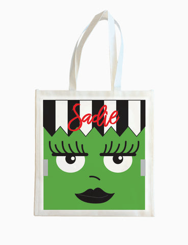 Frankenstein (Girl)  - Halloween Tote