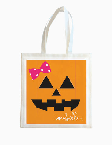 Pumpkin (Girl) - Halloween Tote