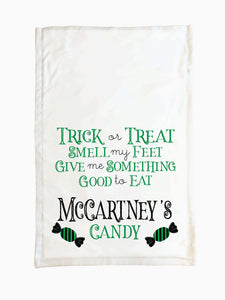 Candy (Green) - Trick or Treat Pillowcase