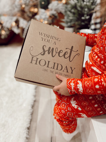 Sweet Holiday Gift Boxes