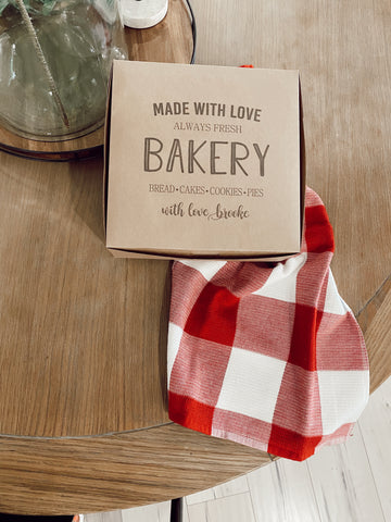Made With love Bakery Gift Boxes