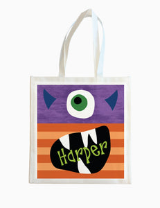 Monster - Halloween Tote