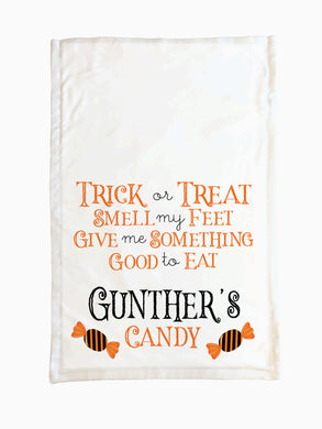 Candy (Orange) - Trick or Treat Pillowcase