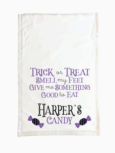 Candy (Purple) - Trick or Treat Pillowcase