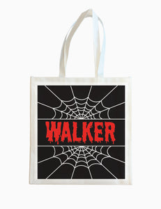 Spider Web - Halloween Tote